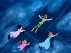 "...or soaring over London at night, Disney's ""Peter Pan"" explores the boundless imagination."