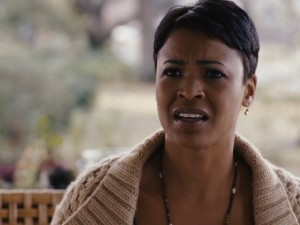 "The talented Nia Long plays Linda Hanson's best friend in ""Premonition."""