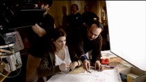 "Director Mennan Yapo directs Sandra Bullock in ""Premonition""'s most iconic scene."