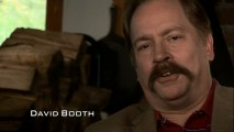 David Booth the Moustachioed Psychic talks about his visions of a horrible future in
