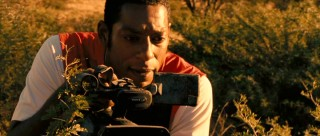 Orlando Jones shows he's more than comic relief black guy as he gets to record a dramatic event.