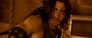 Notice a little more definition in Jake Gyllenhaal's arm than usual? If so, that's no accident -- it's the arm of a Persian warrior prince.