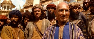 Does Ben Kingsley's inherent baldness suggest an air of evil to Dastan's Uncle Nizam? Or is that simply a natural misdirect?