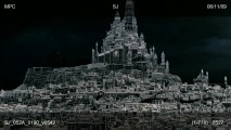 """Layers of an Ancient City"" strips down the various elements that make up the rich settings seen in the finished film."