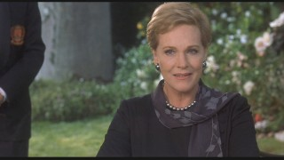 Oscar-winning actress Julie Andrews plays her grandmother, the queen of Genovia.