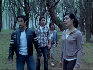 Ordinary teenagers in a mysterious forest can only the Power Rangers are about to get magical.