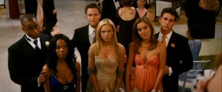 Donna (Brittany Snow), her friends Claire (Jessica Stroup) and Lisa (Dana Davis), and their respective boyfriends Bobby (Scott Porter), Michael (Kelly Blatz), and Ronnie (Collins Pennie) react more strongly to school bullies than serial killers.