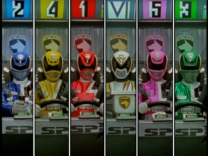 How many Power Rangers can one split-screen hold?!