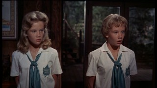 Sharon (Hayley Mills) and Susan (Hayley Mills) find themselves in trouble at camp.