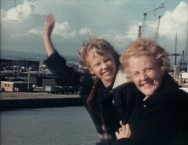 """Goodbye and thanks for reading!"" (says Hayley Mills in a home movie, seen in her profile featurette.)"