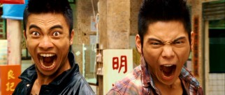 These two young men (Chi Kwan Fung, Jacky Heung) bring in both da noise and da funk as only glass-shattering, screaming Chinese Triad bleeders can.