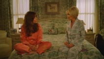 As Olive's pajamas blend into her comforter and wallpaper, she tries to console Chuck regarding Ned.