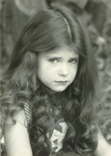 """My first Hollywood headshot, taken at age 6. This started my career."" - Priscilla Weems"