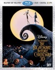 The Nightmare Before Christmas: Blu-ray 3D Combo Pack cover art -- click for larger view and preorder