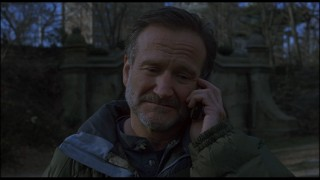 "In ""The Night Listener"", Robin Williams plays the host of a late-night radio show who befriends a dying young fan over the phone."
