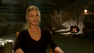 "Rosie Huntington-Whiteley discusses her experiences as one of ""The Five Wives."""