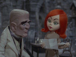 Baron von Frankenstein has his guest list and succession plans questioned by his redheaded assistant Francesca.