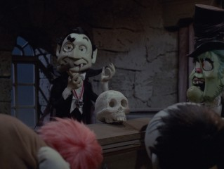 Count Dracula takes a vote that is unanimous.