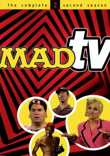 MADtv: The Complete Second Season DVD cover art -- click to buy from Amazon.com