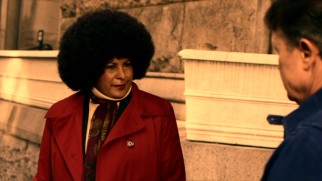 Detective Womack (Pam Grier) and a dramatic afro go after the gangster who killed her partner.