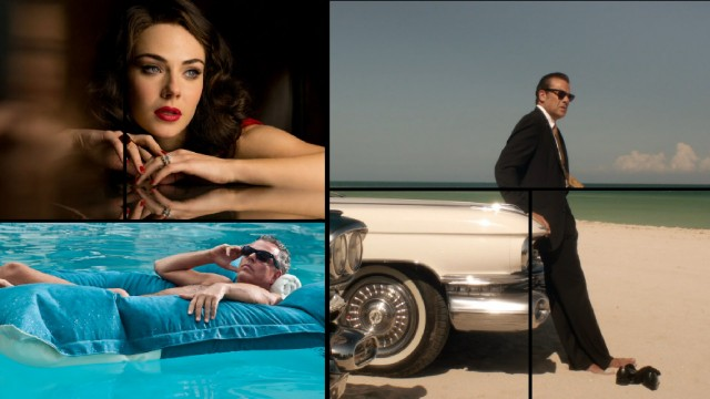 The Magic City Season 2 Blu-ray's menus divide the screen among clips and stills in a variety of rectangles.