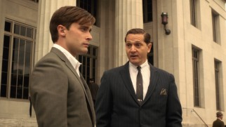 Danny (Christian Cooke) is torn between family allegiances and his duty to uphold the law like his boss state attorney Jack Klein (Matt Ross).