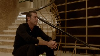 After a brief stint in jail, Ike Evans (Jeffrey Dean Morgan) is relieved to be back on the spiral staircase of his dear hotel.