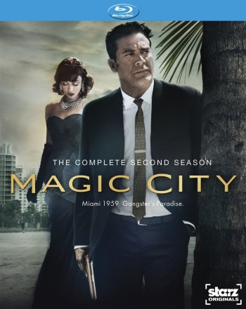Magic City: The Complete Second Season Blu-ray Disc cover art -- click to buy from Amazon.com
