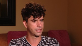 "Hamish Linklater has terrible things to say about his co-stars in jest in ""Behind the Magic."""