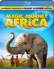 Magic Journey to Africa (2010) Blu-ray 3D/2D cover art -- click to buy from Amazon.com