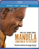 Mandela: Long Walk to Freedom Blu-ray + DVD + Digital HD UltraViolet combo pack cover art -- click to buy from Amazon.com