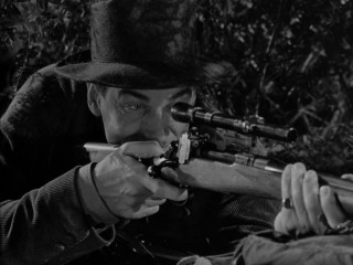 Is this simply a sporting stalk or does Captain Alan Thorndike (Walter Pidgeon) truly intend to assassinate Adolph Hitler? The film lets you decide.