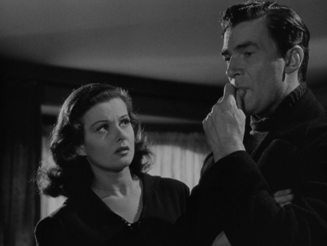 "Cockney streetwalker Jerry Stokes (Joan Bennett) and distinguished socialite Alan Thorndike (Walter Pidgeon) make for an unlikely pairing in Fritz Lang's ""Man Hunt."""
