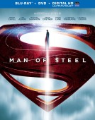 Man of Steel: Blu-ray + DVD + Digital HD UltraViolet Combo Pack cover art -- click to buy from Amazon.com
