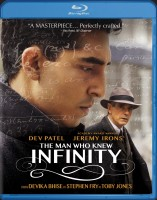 The Man Who Knew Infinity Blu-ray Disc cover art -- click to buy from Amazon.com