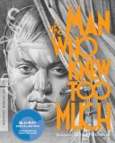 The Man Who Knew Too Much (1934): The Criterion Collection Blu-ray cover art -- click to buy from Amazon.com