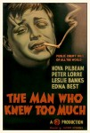 The Man Who Knew Too Much (1934) movie poster