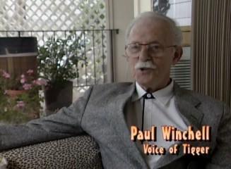 "Hoo-hoo-hoo! Paul Winchell, the original voice of Tigger, is among those looking back on the film in the 2001 retrospective ""The Story Behind the Masterpiece."""