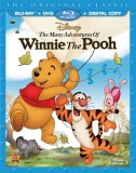 The Many Adventures of Winnie the Pooh: Blu-ray + DVD combo pack cover art -- click to buy from Amazon.com