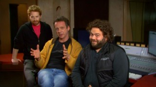 Seth Green, director Simon Wells, and Dan Fogler provide a loopy introduction to their audio commentary over the Full Motion-Capture Experience.