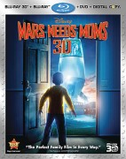 Mars Needs Moms: Blu-ray 3D + Blu-ray + DVD + Digital Copy cover art -- click to buy from Amazon.com