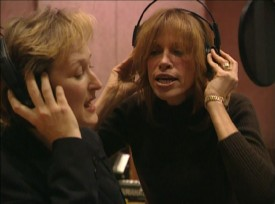 "Meryl Streep and Carly Simon sing ""Two Little Sisters"" together in the Blu-ray's new bonus feature."