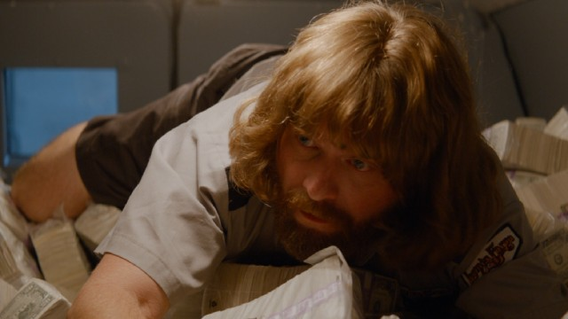 "The unfortunately fashioned David Ghantt (Zach Galifianakis) leads the second biggest heist on American soil in #111, ""Masterminds."""
