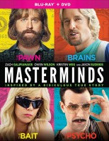 Masterminds: Blu-ray + DVD + Digital HD cover art -- click to buy from Amazon.com