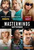 Masterminds (2016) movie poster