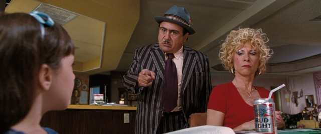 Matilda doesn't get the healthiest of upbringings from Mr. and Mrs. Wormwood (Danny DeVito and Rhea Perlman).