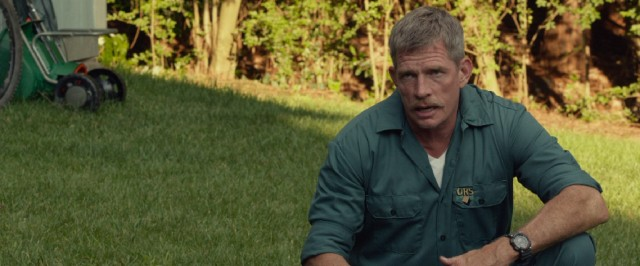 "Thomas Haden Church plays a Dad and former Marine who was wounded in Iraq in ""Max."""