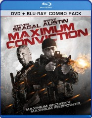 Maximum Conviction (2012) Blu-ray + DVD Combo Pack cover art -- click to buy from Amazon.com