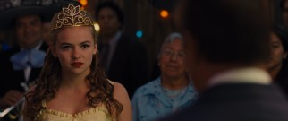 White's daughter Julie (Morgan Saylor) celebrates her Quinceañera in one of the forced and probably fictionalized subplots.