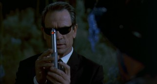 Please look directly at the neuralyzer so that Agent K (Tommy Lee Jones) can erase your memory and feed you a reasonable fake explanation.
